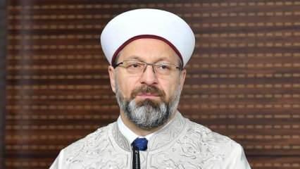 Diyanet İşleri Başkanı Erbaş'tan, 'Elmalı davası' açıklaması