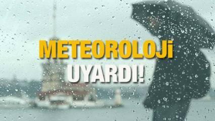 İstanbul'da yağmur ne zaman yağacak? Meteoroloji'den sağanak ve sel uyarısı geldi!