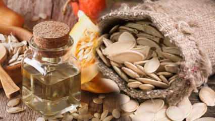 Kabak çekirdeği yağı faydaları nelerdir? Kabak çekirdeği yağı cilde faydaları...