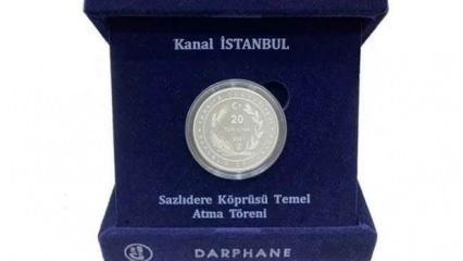 Kanal İstanbul için hatıra parası