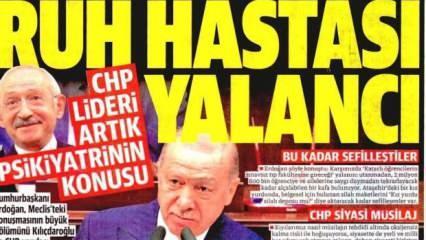 Kılıçdaroğlu artık psikiyatrinin konusudur - 1 Temmuz 2021 perşembe gazete manşetleri