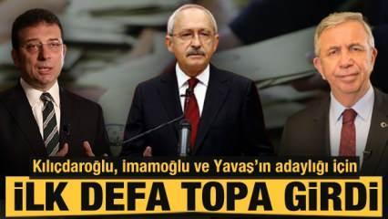 Kılıçdaroğlu ilk defa topa girdi: Muhalefetin adayı kim olacak?