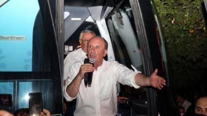 Muharrem İnce'den Kılıçdaroğlu'na veryansın: Belediyelerden para toplayıp kanal açmayın