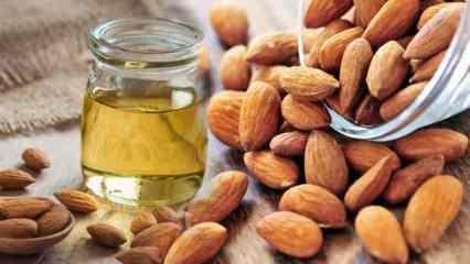 Tatlı badem yağının cilde faydaları nelerdir? Tatlı badem yağı kirpikleri besler mi?