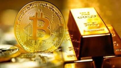 Yatırımcılar Bitcoin yerine altında gelecek görüyor