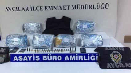 Avcılar'da uyuşturucu operasyonu: 2 şüpheli tutuklandı