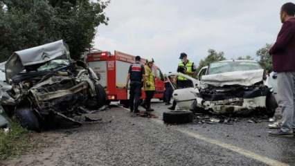 Bursa'daki trafik kazasında ölü sayısı 5'e yükseldi!