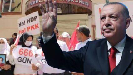 Cumhurbaşkanı Erdoğan, evlat nöbetindeki ailelerle buluşacak