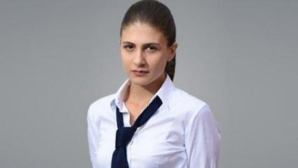 Genç oyuncu Naz Çağla Irmak yeni filmi için saçlarını kazıttı!