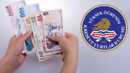 Burs ve kredi ödemeleri yapılmaya başlandı
