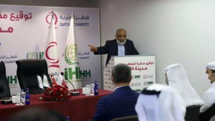 İHH Suriye'de yeni bir şehir inşa ediyor