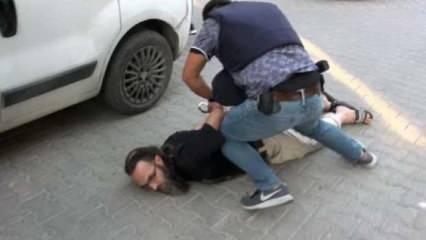 Adana'da kanlı terör eylemi hazırlığındaki terörist böyle yakalandı