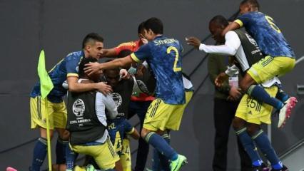 Kolombiya, Kupa Amerika'yı üçüncü tamamladı