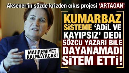 Sözcü yazarından Meral Akşener'in projesine tepki: Mahremiyet kalmayacak!