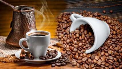 Kahvenin faydaları nelerdir? Sade Türk kahvesi zayıflatır mı?