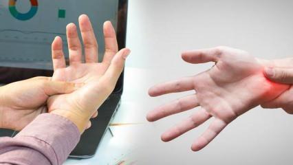 El ve parmaklarda uyuşma yaşıyorsanız mutlaka doktora başvurun!