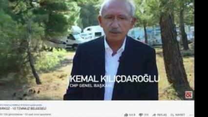 Kılıçdaroğlu'nun skandal 15 Temmuz açıklamaları FETÖ'cülerin belgeselinde yer aldı