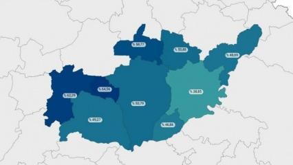 Adıyaman'ın Tut ilçesi aşılamada Türkiye ortalamasının üstüne çıktı!