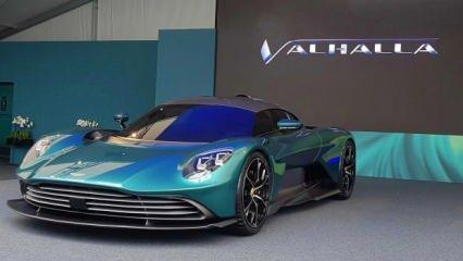 Aston Martin Valhalla görücüye çıktı!