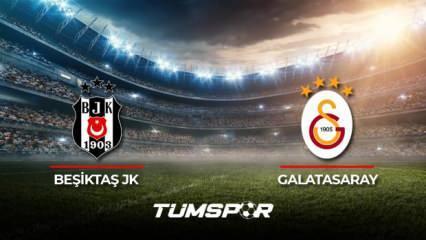 Beşiktaş Galatasaray maçı ne zaman? Süper Lig 2021-2022 sezonu Beşiktaş Galatasaray derbisi!