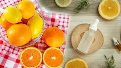 C vitamininin yüze faydaları nelerdir? C vitamini serum ne işe yarar?