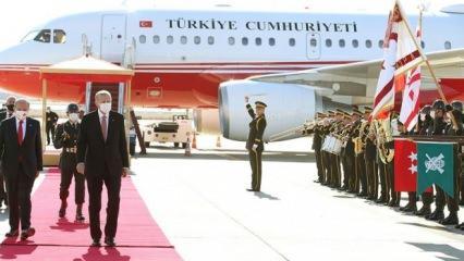 Cumhurbaşkanı Erdoğan'ın KKTC ziyareti öncesi Yunanistan'ın provokasyonuna tepki