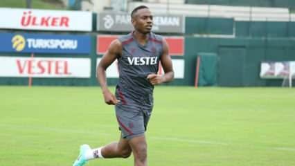 Trabzonspor'dan Koita için sakatlık açıklaması