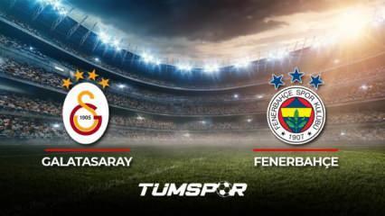 Galatasaray Fenerbahçe maçı ne zaman? Süper Lig 2021-2022 sezonu Galatasaray Fenerbahçe derbisi!