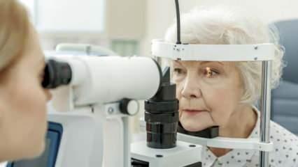 20 kişiden birinde mutlaka görülüyor! Göz tansiyonu nedir?