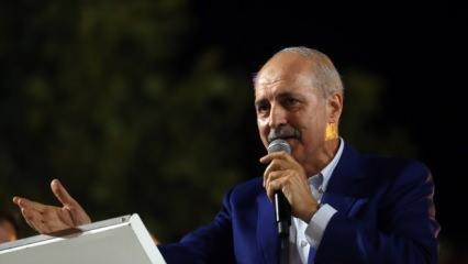 Kurtulmuş'tan Kıbrıs Barış Harekatı açıklaması