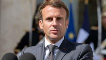 Macron'u şoke eden tepki!