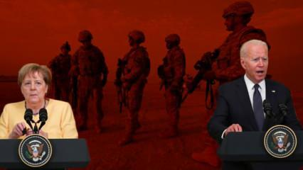 Merkel'den Biden'ın yanında Afganistan itirafı