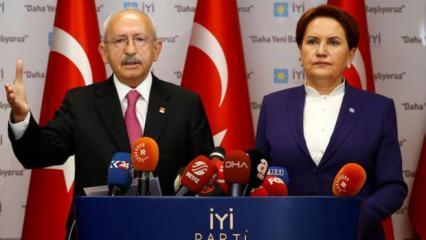 Kılıçdaroğlu cumhurbaşkanı adayı, Akşener başbakan adayı