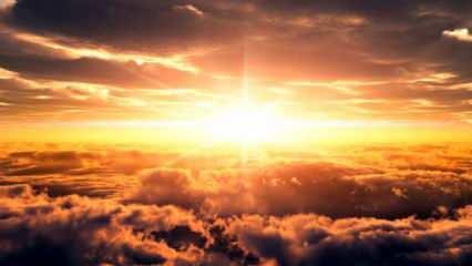 Rüyada evinin üstüne güneş doğması ne anlama gelir? Rüyada güneş görmek neye işaret eder?