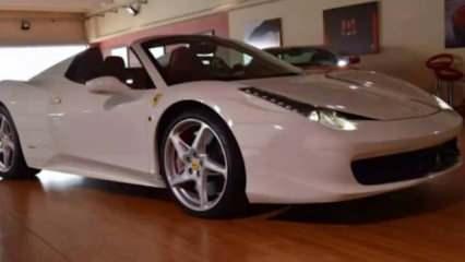 Tosuncuk'un başını yakan Ferrari!
