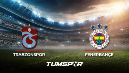 Trabzonspor Fenerbahçe maçı ne zaman? Süper Lig 2021-2022 sezonu Trabzonspor Fenerbahçe derbisi!