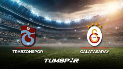 Trabzonspor Galatasaray maçı ne zaman? Süper Lig 2021-2022 sezonu Trabzonspor Galatasaray derbisi