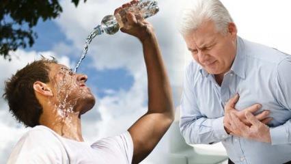 Uzmanı uyarıyor: Aşırı sıcaklar kalp hastaları için ölümcül olabilir