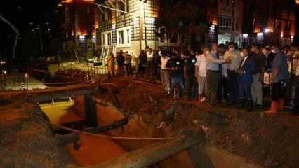 Bakan Soylu selin vurduğu Güneysu'da