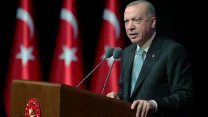 Başkan Erdoğan'dan Lozan mesajı