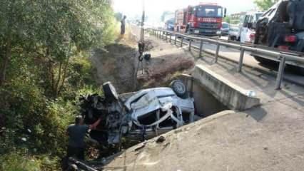Bayram dönüşü feci kaza: 3 ölü, 2 ağır yaralı