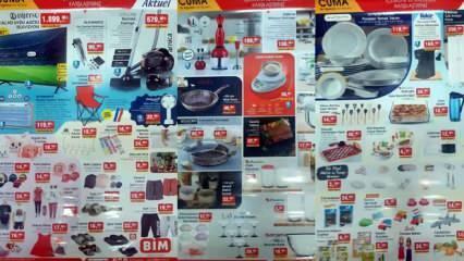 BİM 6 Ağustos Aktüel Ürünler Kataloğu! Kamp Sandalyesi, süpürge, LCD TV, Mutfak, Tekstil ürünlerinde