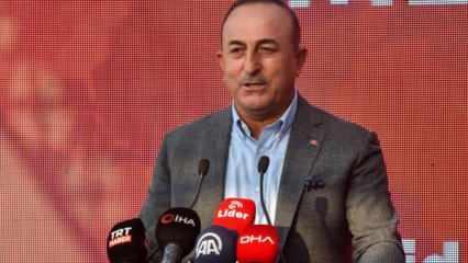 Çavuşoğlu'ndan ABD beslemesi medyaya tepki: Bir ulusal güvenlik meselesi
