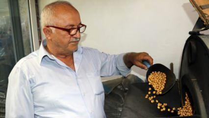 Amasya'da 3 kuşaktır leblebi üretimi eski teknikle sürdürüyor!