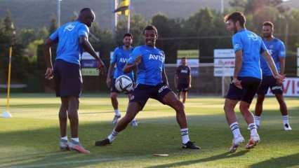 Enner Valencia takımla çalıştı!