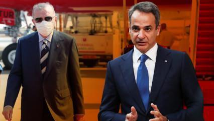 Erdoğan'ın sözleri Yunanistan'ı öfkelendirdi! Bir açıklama da Miçotakis'ten