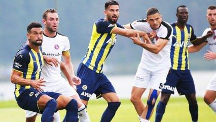 Fenerbahçe'de 4 futbolcu kadro dışı!