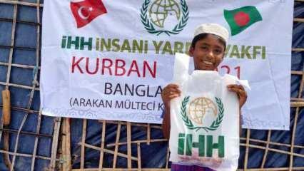 İHH'nın Kurban yardımları 2.5 milyon muhtaca ulaştı