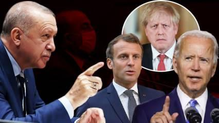 İsrail, ABD, Fransa ve İngiltere Erdoğan'ın sözlerini hazmedemedi: Türkiye'yi kınıyoruz