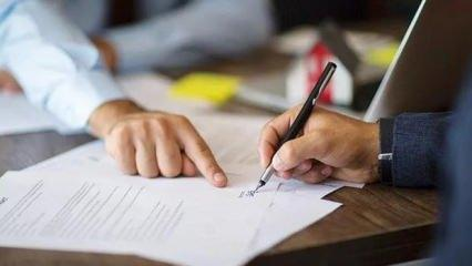 Kira sözleşmesine dikkat! Atılan bir imza hayatınızı kabusa çevirebilir